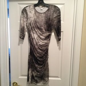 Helmut Lang fitted dress